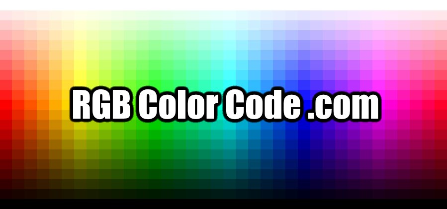 Rgb Color Code Color Picker Codes Converters